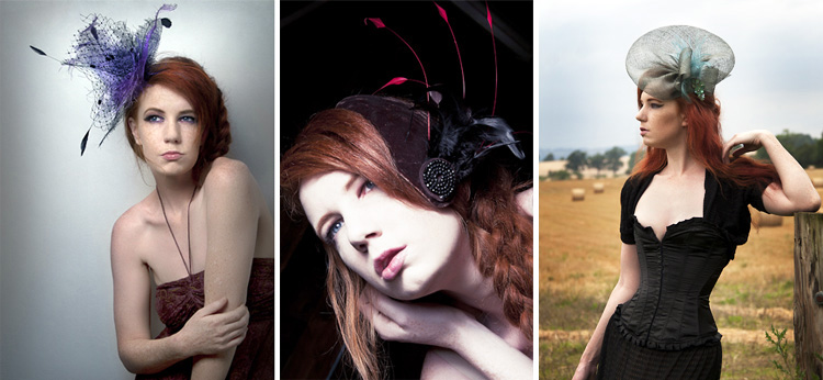 Jeanette Sendler Millinery Collection Autumn 2012