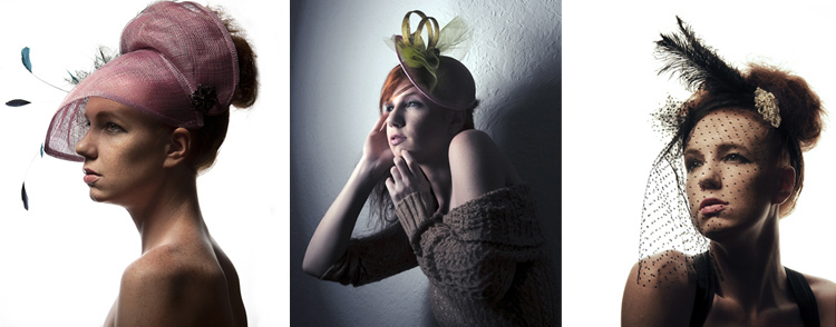 Jeanette Sendler Millinery Sring Collection 2012