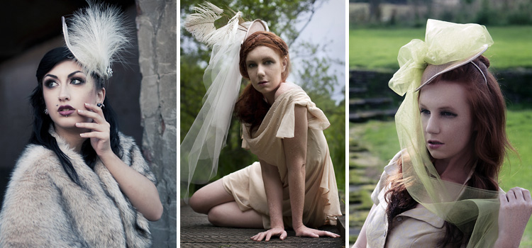 Jeanette Sendler Millinery Summer Collection 2012